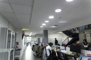 Illuminazione - Impiantistica - nuova sede TIGEM